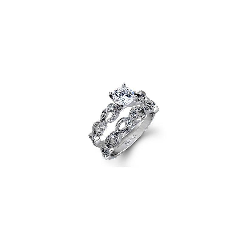 18 karat Vine Band (engagement ring sold separately)