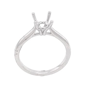 Platinum Solitaire Ring Mounting