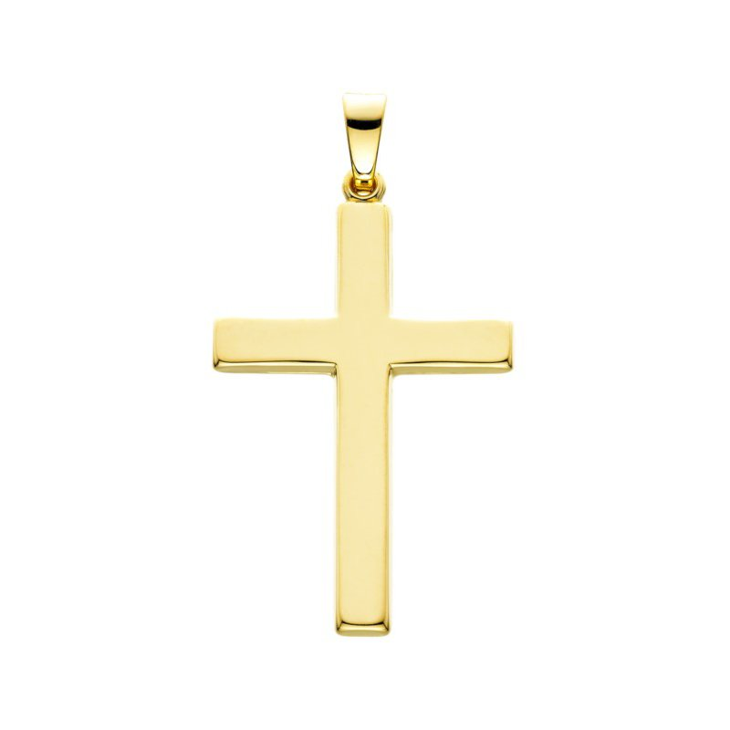 14 Karat Yellow Gold Cross