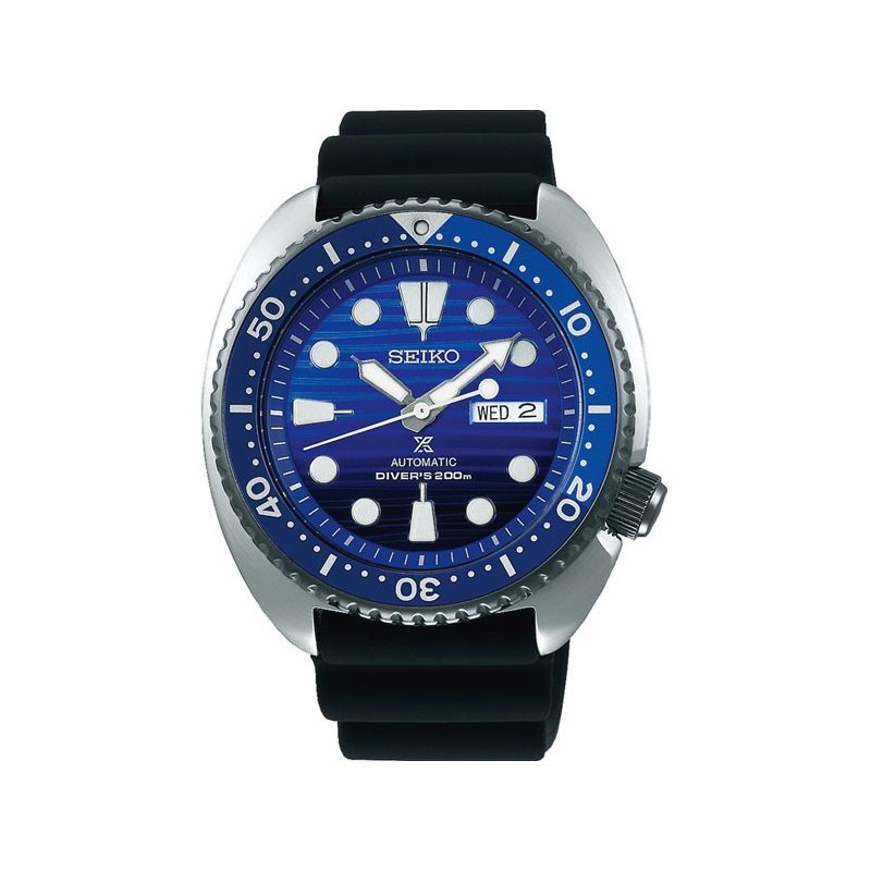 Black Stainless Steel Automatic Watch Special Edition Seiko