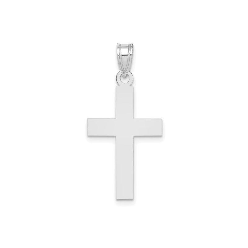 White Gold 29 mm Cross