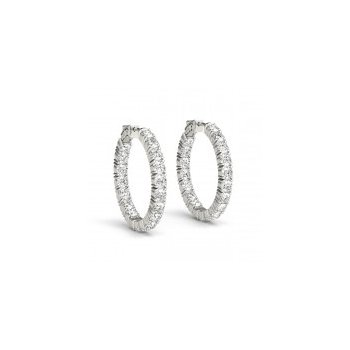 14 Karat Diamond Earrings