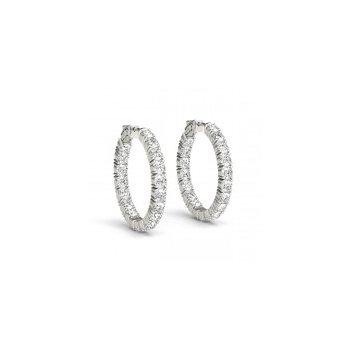 14 Karat Diamond Earrings