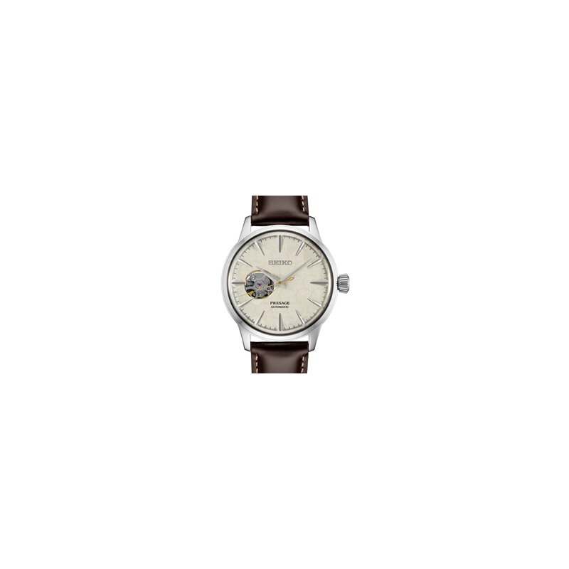 Ladies Stainless Steel Seiko Automatic With Honeycomb Dial