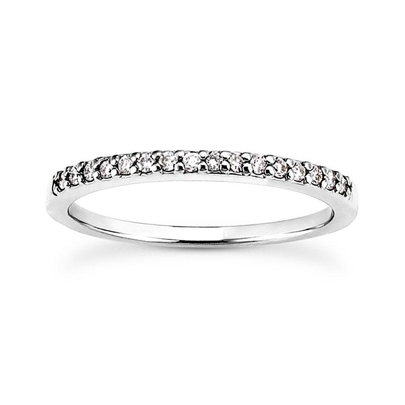 narrow diamond band