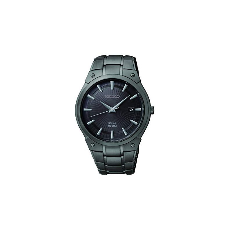 Stainless Steel Solar Watch