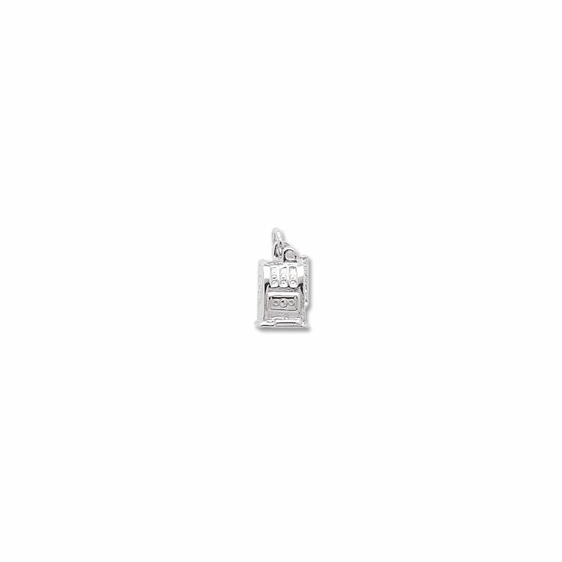 Sterling Silver Slot Machine Charm