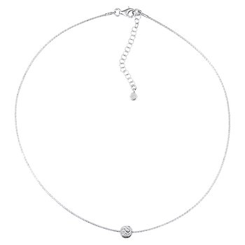 Sterling Silver Floating Bead Pendant