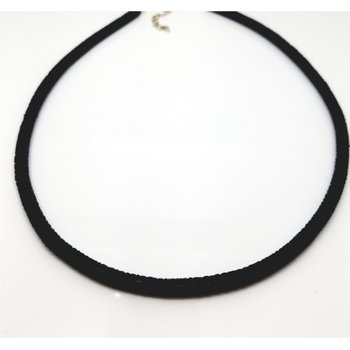 Black Stingray Necklace