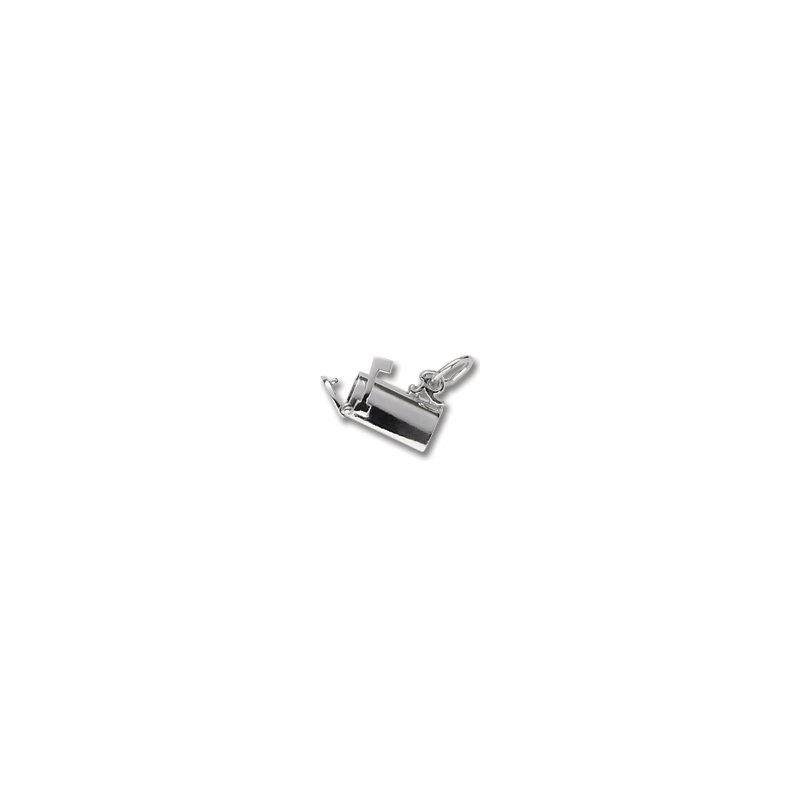 Sterling Silver Mailbox Charm