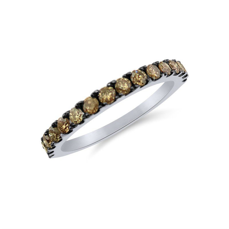 Fancy Natural Brown Diamond Band