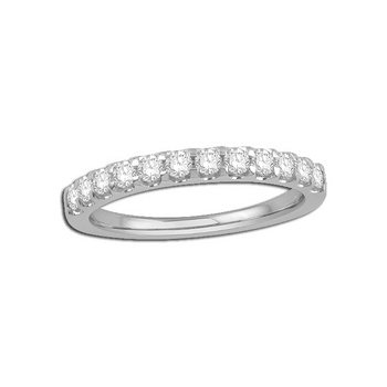 14 Karat Diamond Band