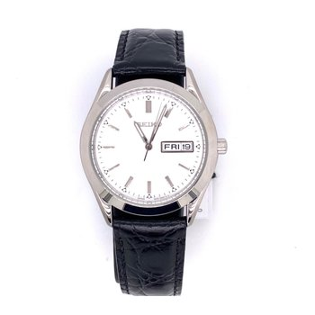 White Stainless Steel Quartz Watch