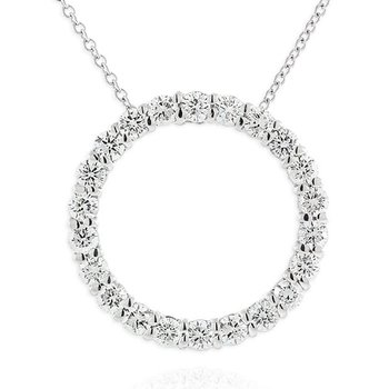 Eye catching Diamond Circle Pendant
