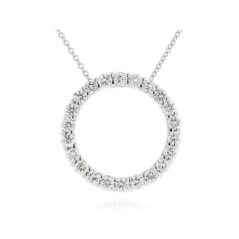 Eye catching Diamond Circle Pendant