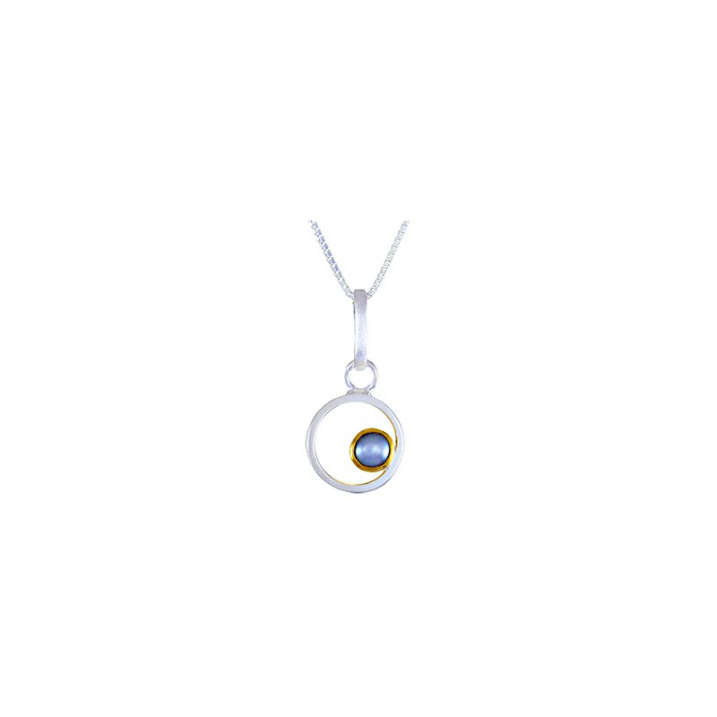 Pearl Sterling Silver Pendant