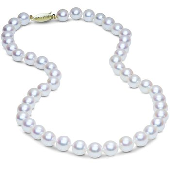 Glowing Akoya 8mm Pearl Necklace
