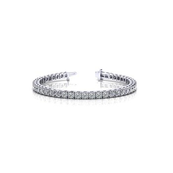 Beautiful 3.06 carat Diamond White Gold Bracelet