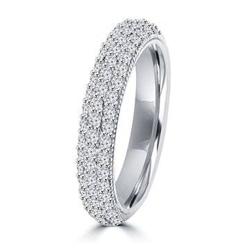 Diamond Encrusted Pave Band
