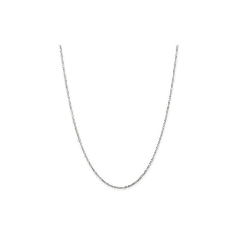Sterling Silver Round Spiga Chain