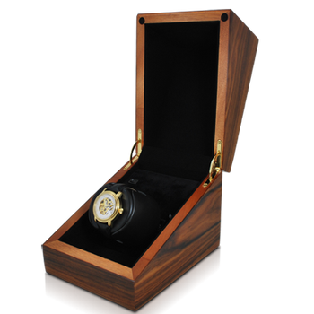 Single Teak Watch Winder
