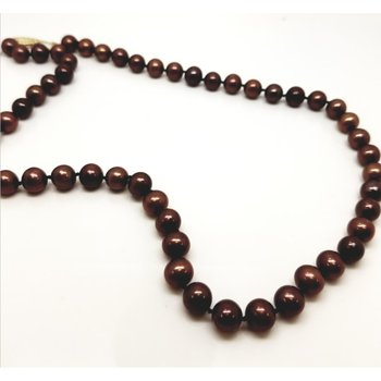 Freshwater Chocolate Pearls, 18""