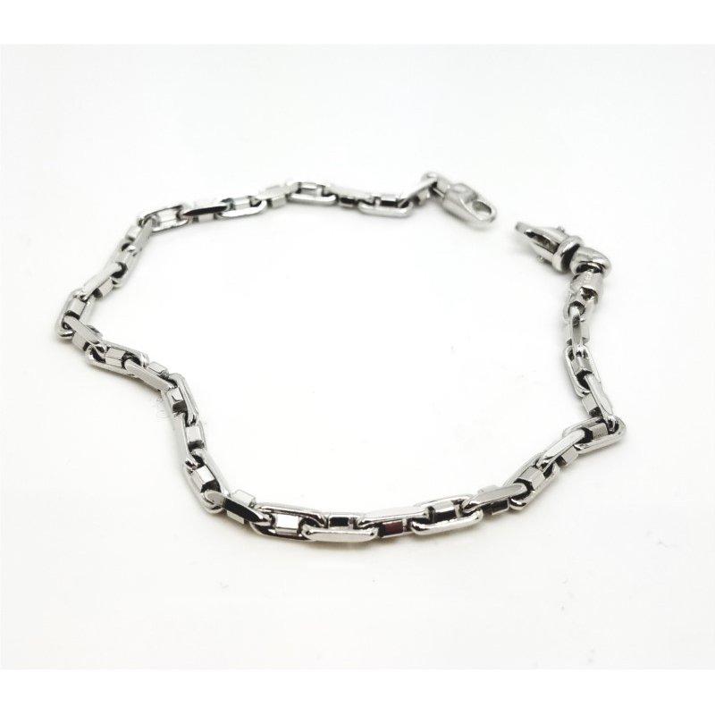 """Unique  Gold Anchor Link 8 1/2"""" long Bracelet"""