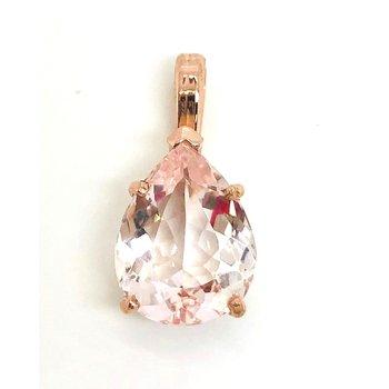 Ethereal Pink Morganite Pendant
