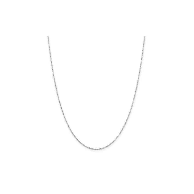 Sterling Silver 1.25m cable chain