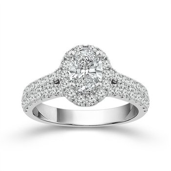 Dazzling Diamond Engagement Ring