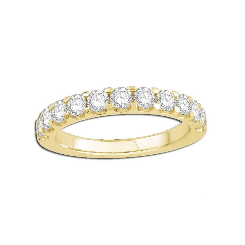 14 kt Yellow Gold Diamond Band