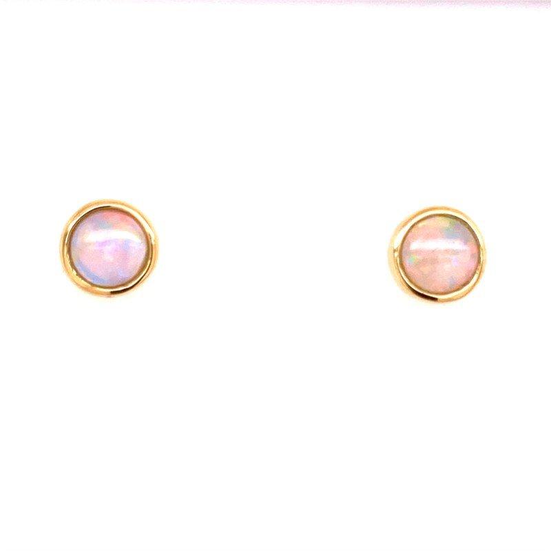 Lovely Opal Earrings in 14 karat Gold