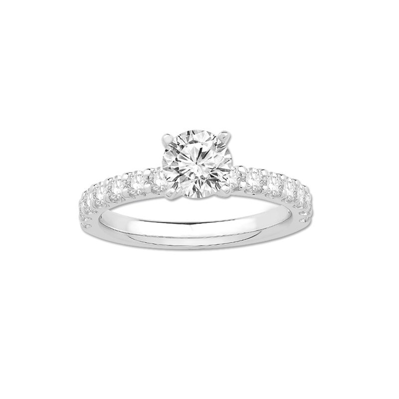 RC Wahl Jewelers Signature Engagement Ring