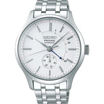 White Stainless Steel Automatic Watch