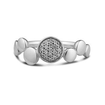 Sterling Silver Circles Ring