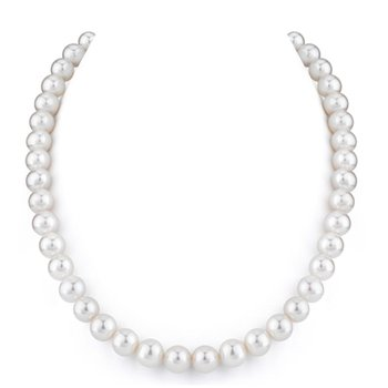 9 - 10 m.m. Freshwater Pearl Necklace, 18""
