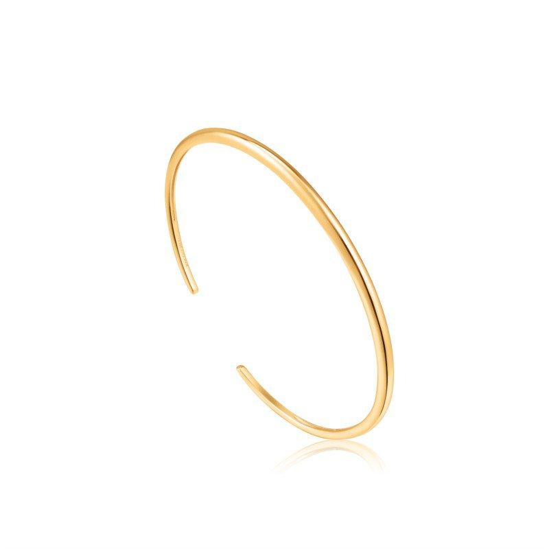 Yellow Sterling Silver Luxe Cuff Bracelet