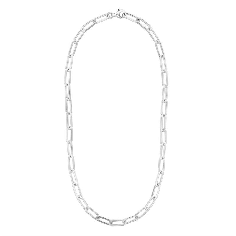 Sterling Silver Cable Link Chain