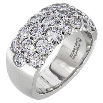 Breathtaking 3 Row Diamond Band 1.50ctw
