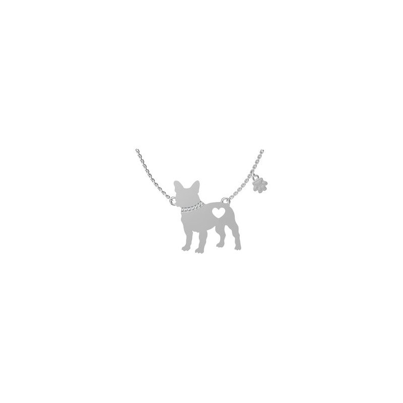 Sterling Silver Dog Pendant