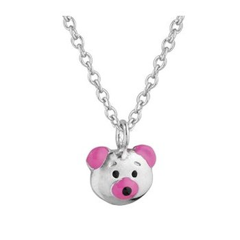 Children's Enamel Bear Pendant