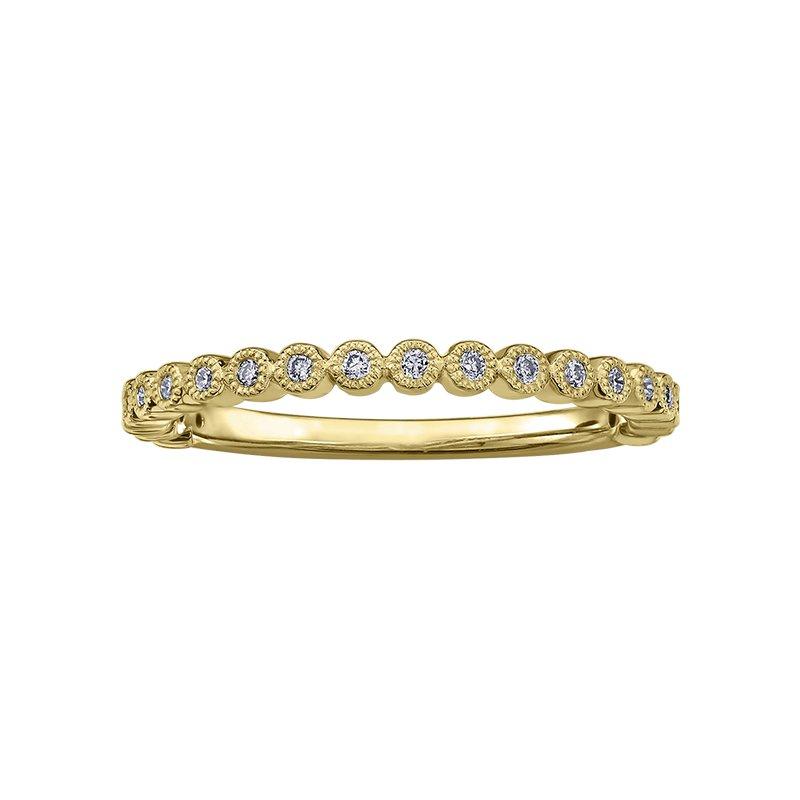 Empress Line Yellow gold Diamond Band