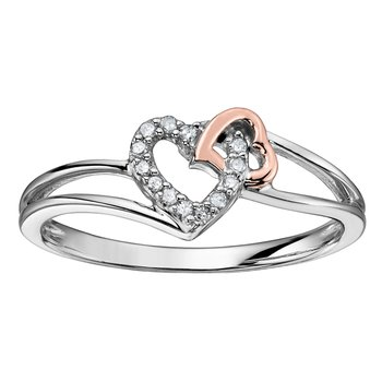 Entwined Hearts Ring