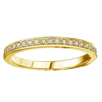 10k Yellow Gold Stackable Band