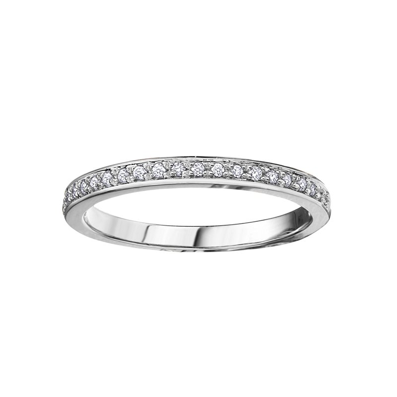 Empress Line Stackable Diamond Band