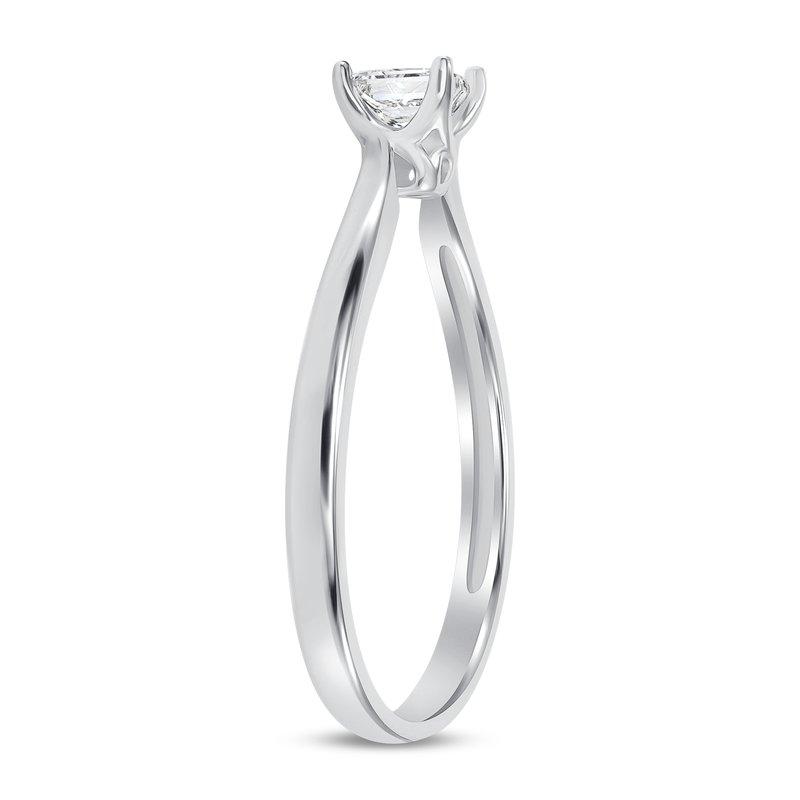 Solitaire Princess Cut Diamond Ring