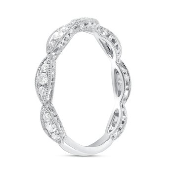 Marquise Shaped Diamond Band