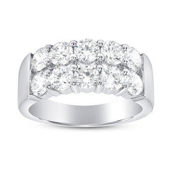 10 Stone Diamond Band