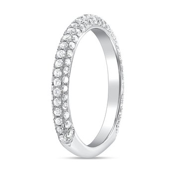 Pavé Diamond Euro Band