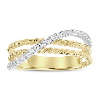 Free form Diamond Band